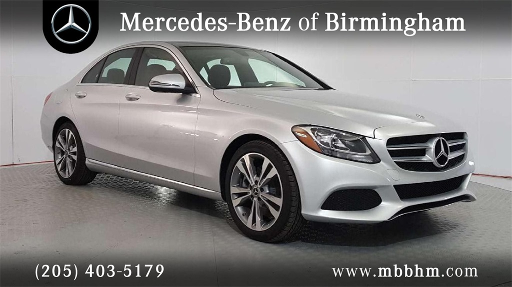 New 2018 mercedes benz c class c 300 sedan in irondale for Mercedes benz c class service b