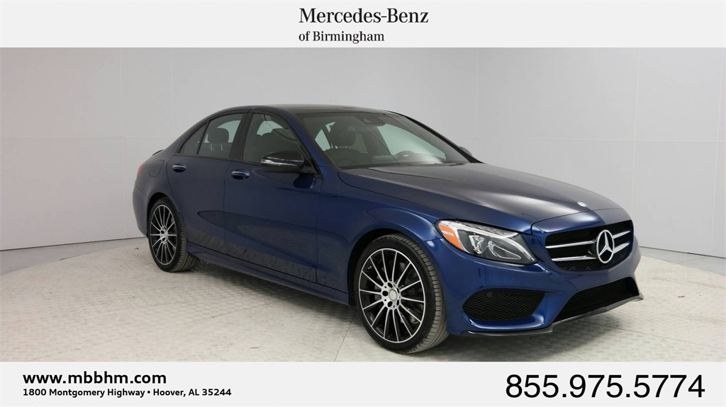 New 2017 mercedes benz c class c 300 sport sedan in hoover for Mercedes benz college graduate program