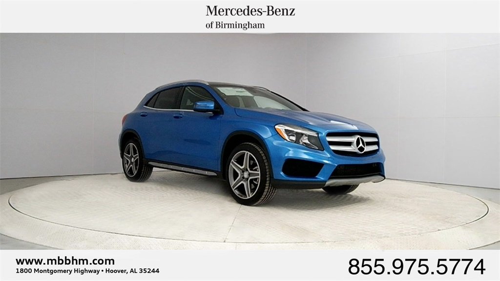 New 2017 mercedes benz gla gla 250 sport suv in hoover for Mercedes benz college graduate program