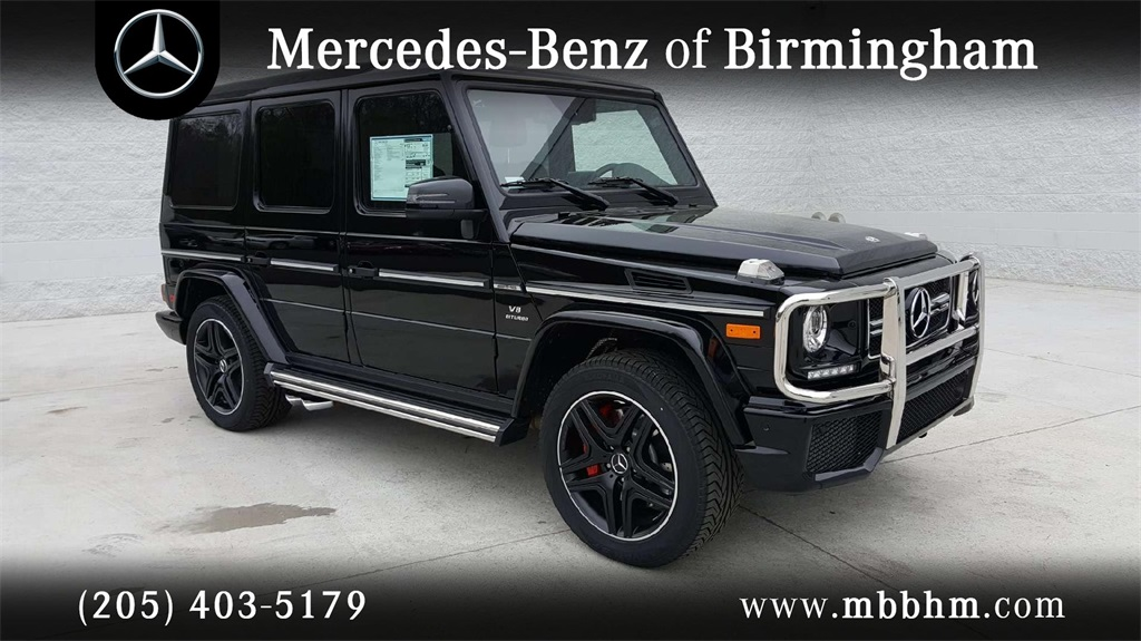 New 2018 mercedes benz g class amg g 63 suv suv in for Mercedes benz jobs alabama
