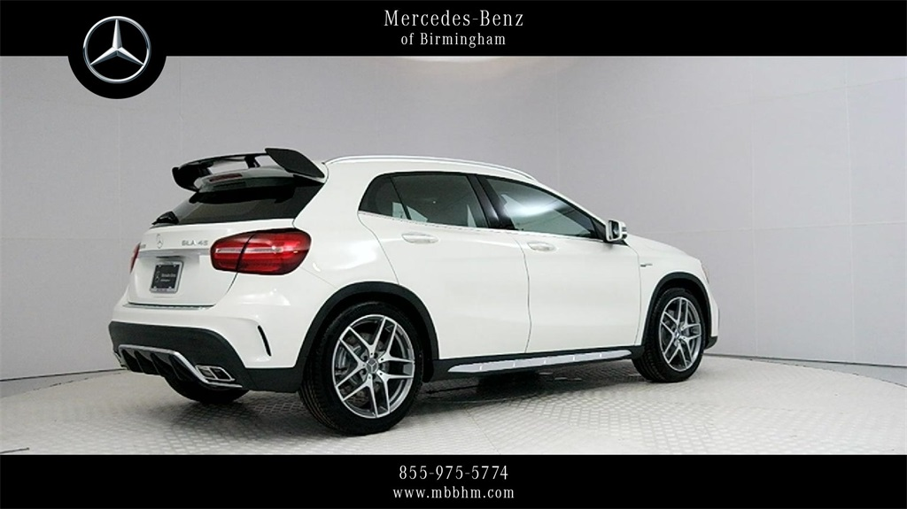 New 2018 mercedes benz gla amg gla 45 suv suv in irondale for Mercedes benz amg suv 2018