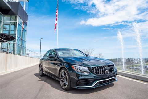 New 2019 Mercedes-Benz C-Class AMG® C 63 Sedan